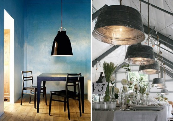 Interior Obsessions Oversize Lighting