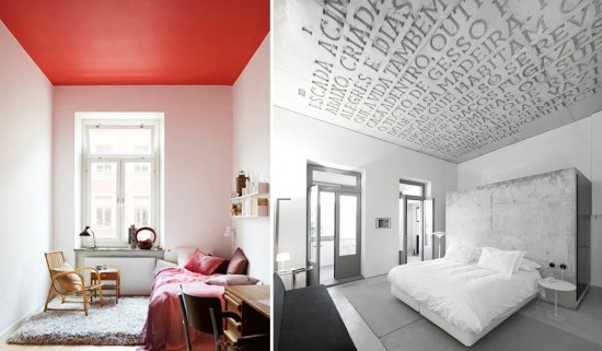 Painted ceiling ideas amazing painted ceiling designs u for Cool painted ceilings