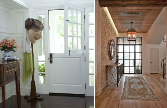 Interior obsessions the entry door paper and stitch dutch door steel glass planetlyrics Images