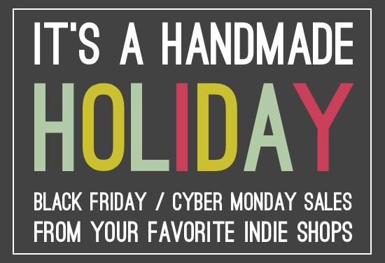 80cd93df0 Handmade Holiday: BIG Black Friday + Cyber Monday Sales List - Paper ...