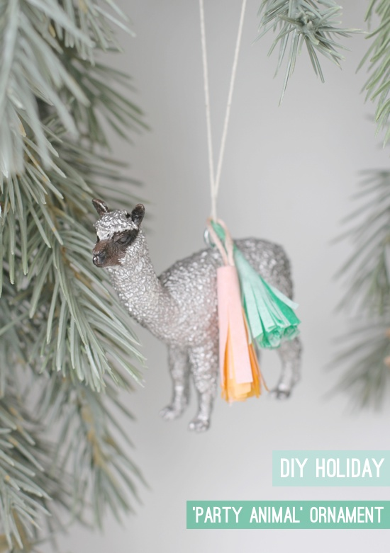 Tasseled animal ornament | Christmas Gifts For Girlfriend | DIY Gifts For Your BFF
