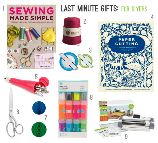 Gifts for diy lovers paper and stitch