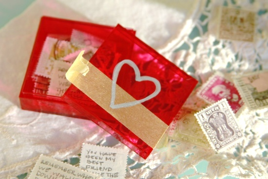 Make This Easy Valentine Letter Box DIY  Paper and Stitch