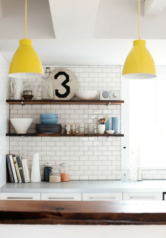 yellow kitchen pop