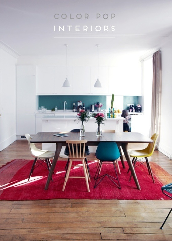 color pop interiors