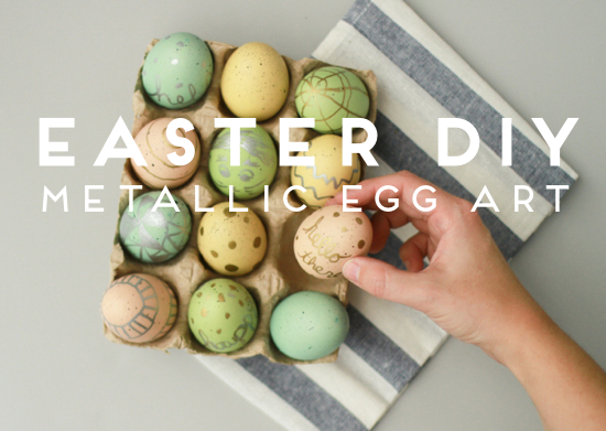 metallic-painted-easter-eggs-diy-11