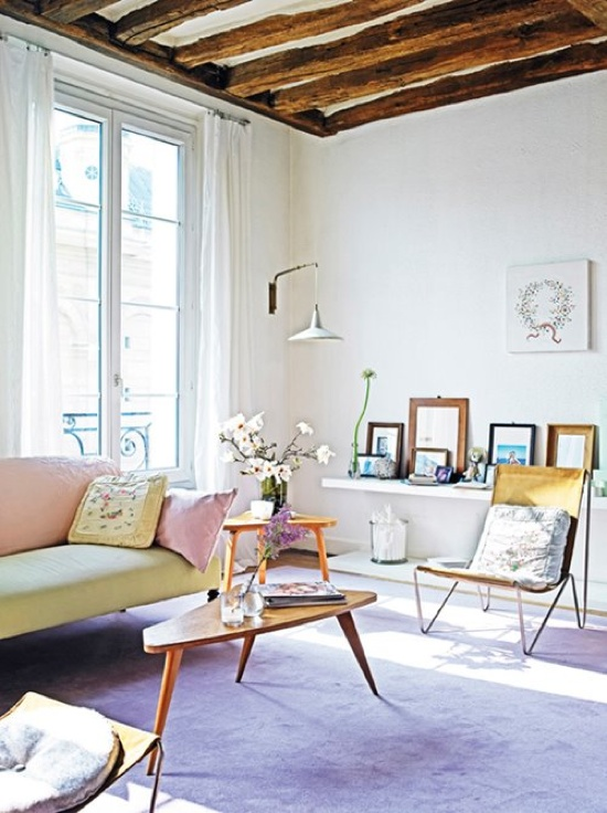 pastel interiors (with wood)