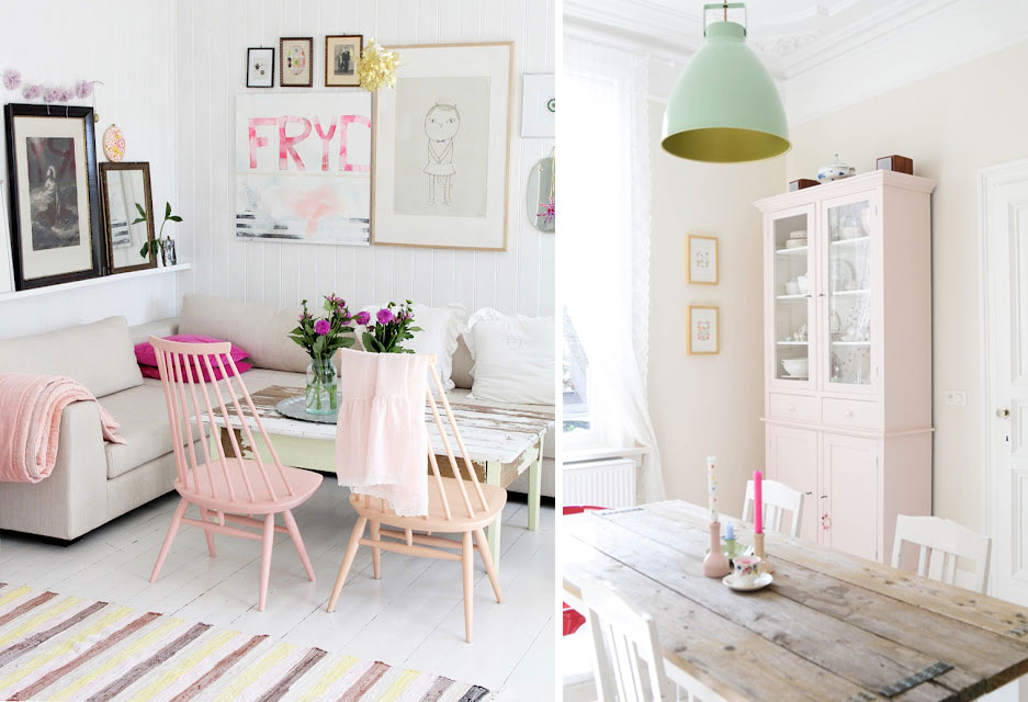 Interior Obsessions Pastel Palette Paper And Stitch