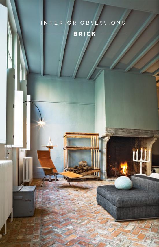 Interior Obsessions - Brick - Paper and Stitch