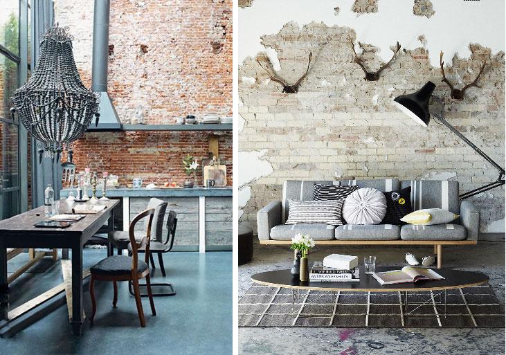 used brick in kitchen partial plaster over brick. Black Bedroom Furniture Sets. Home Design Ideas
