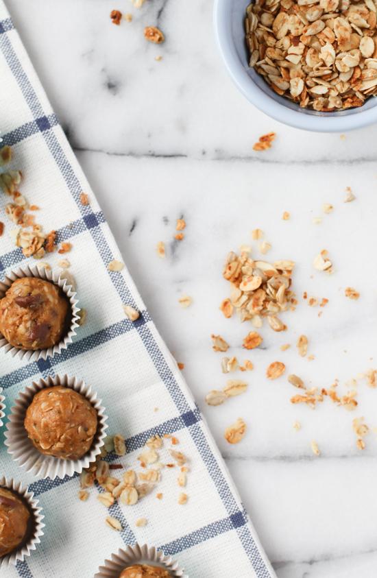recipe // organic no-bake energy balls