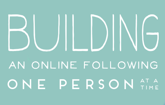 building-an-online-following