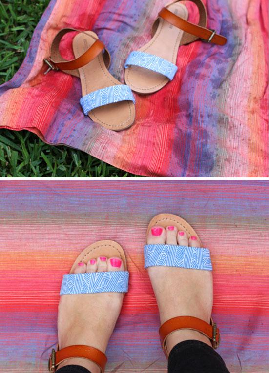 diy-sandals-makeover