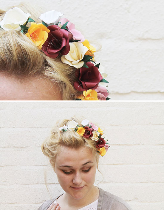 paper-flower-hair-diy
