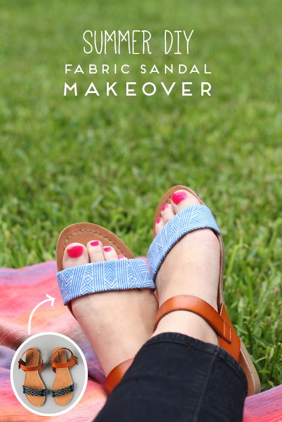DIY // summer sandal makeover