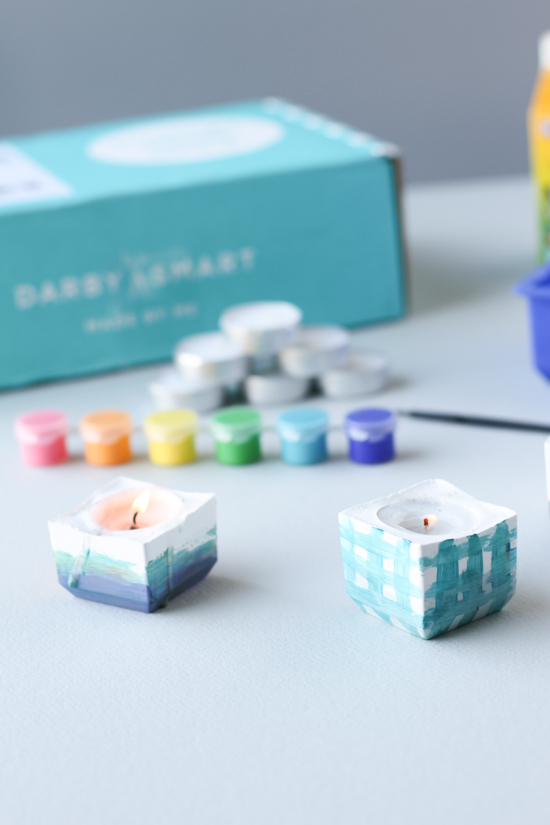 modern votives kit from darby smart and p & s