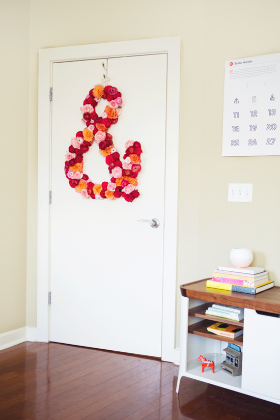 hanging diy flower project