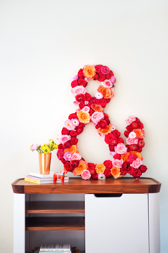 fresh flower DIY // ampersand