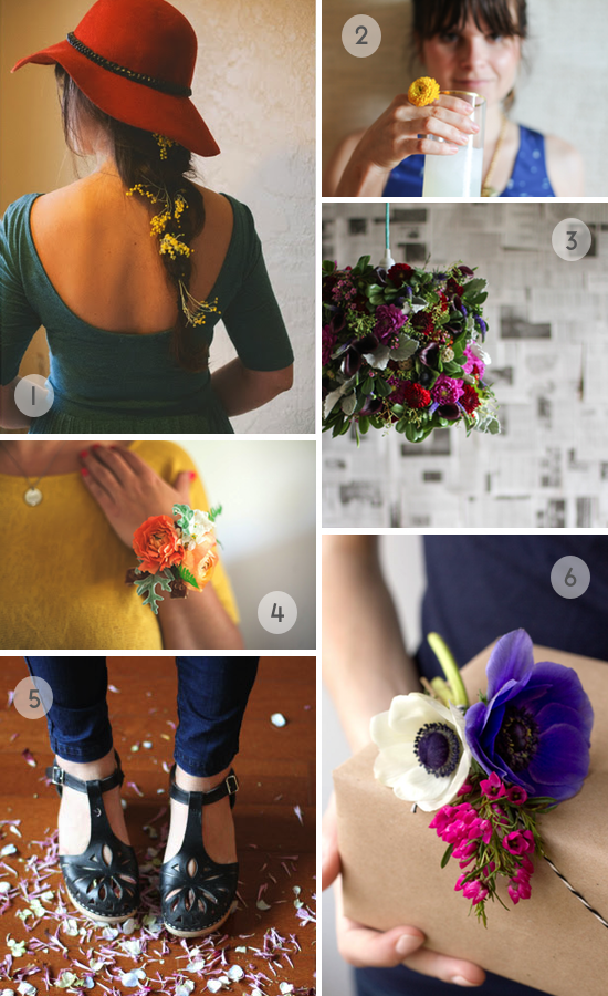 fresh flower DIY roundup