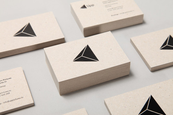 geometric design for a business card