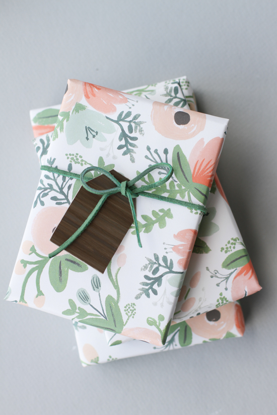 DIY Gift Tags // made from vinyl siding samples