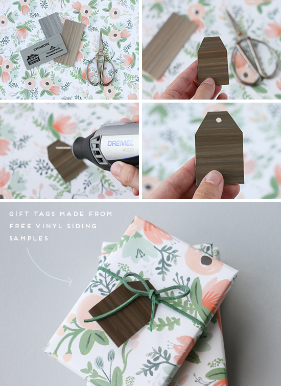 DIY // woodland gift tags tutorial