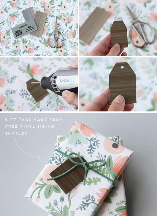 DIY // woodland gift tags tutorial