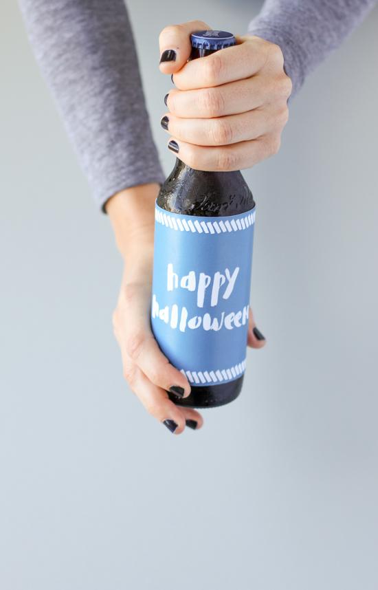 Halloween Printables // Bottle Label