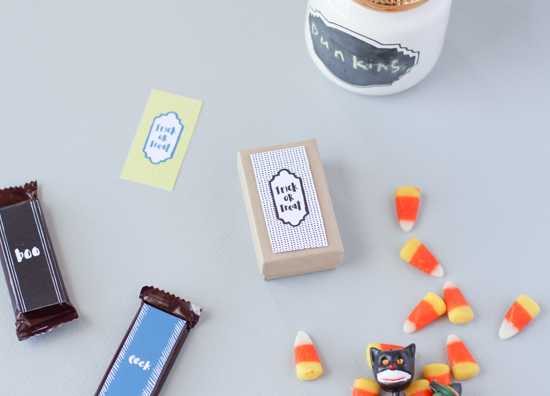 Candy Printables for Halloween