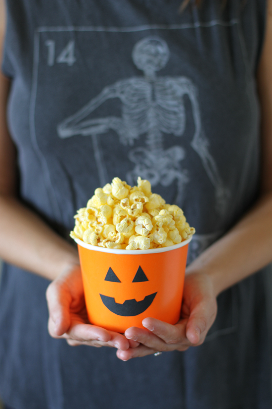 halloween pumpkin party tubs