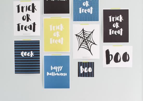 halloween printables & stencils