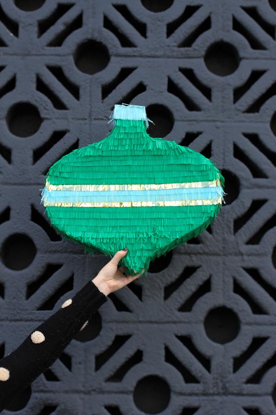 Christmas DIY // giant mid-century ornament