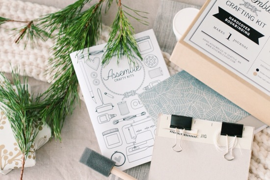 Holiday Gift // Bookbinding Kit from Aseemble