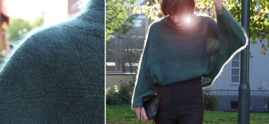 Angora sweater diy from Pickles