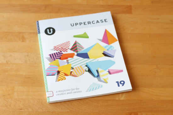 Uppercase Magazine feature (issue 19)