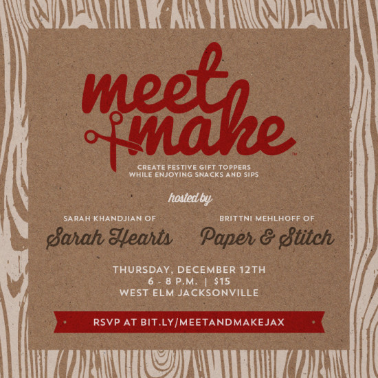 Meet Make at West Elm Jacksonville