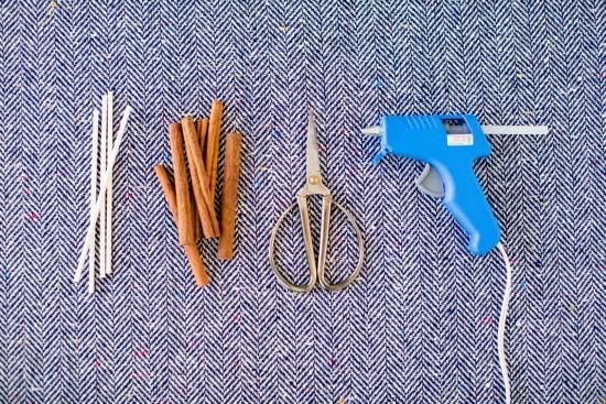 supplies for cinnamon christmas tree toppers