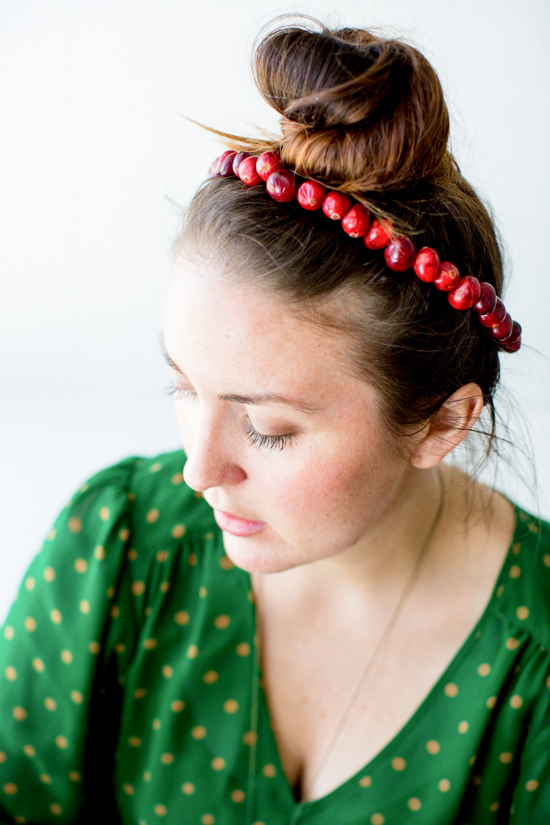 Make This: Cranberry Crown