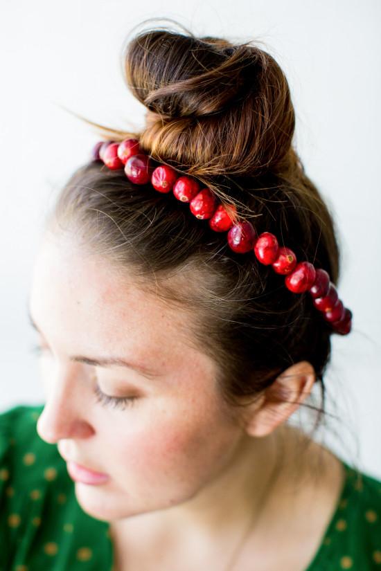 Cranberry head crown DIY