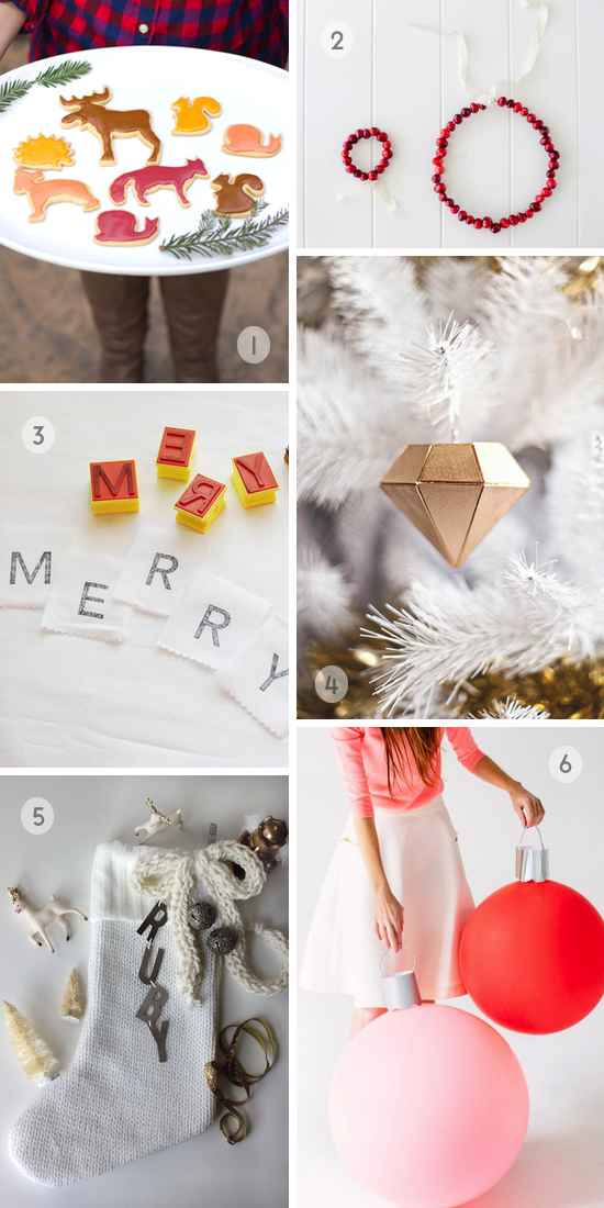 Roundup: Christmas and Holiday Project Ideas