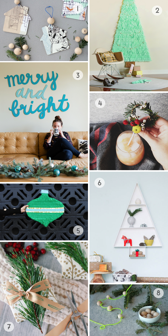 Roundup: Holiday / Christmas DIY Ideas