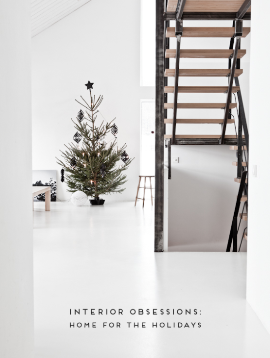 Minimal Holiday Interiors