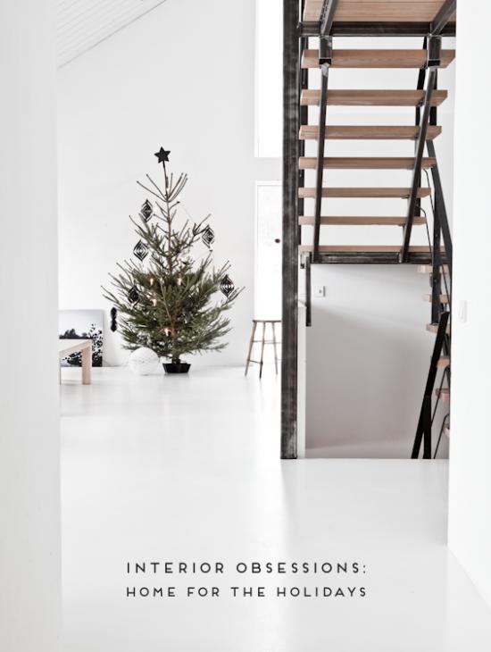 Minimal Holiday Interiors