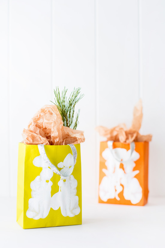 Holiday DIY // gift bags
