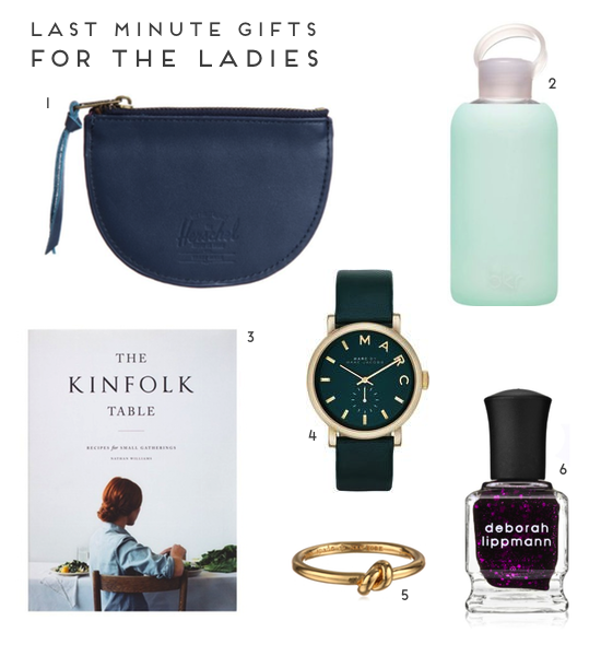 Last Minute Gifts // for the ladies