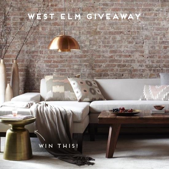Win It: West Elm Giveaway