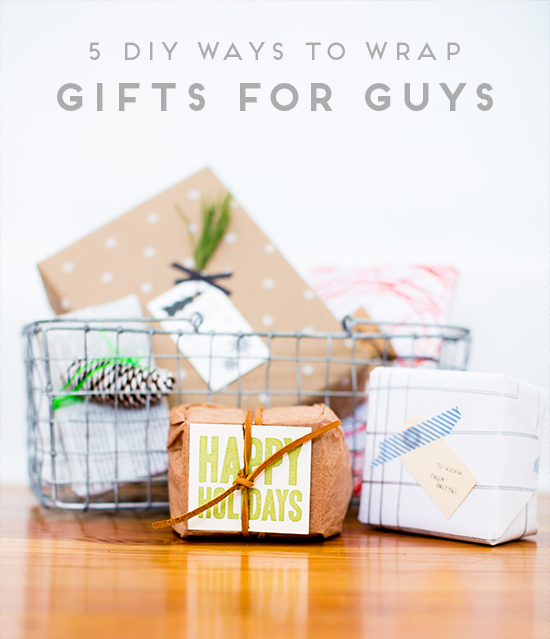 5 DIY Ways to Wrap Gifts for Guys