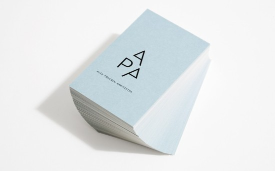 Biz Card Inspiration // Alex Poulsen Architects