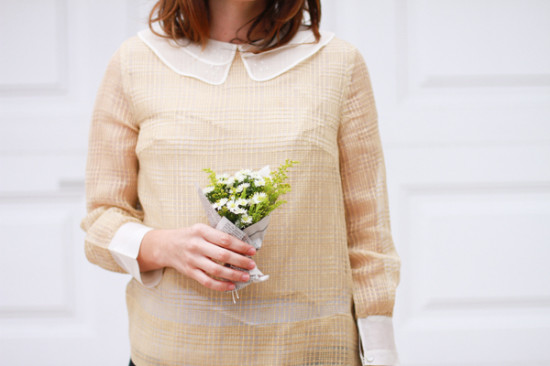 $2 mini DIY bouquet