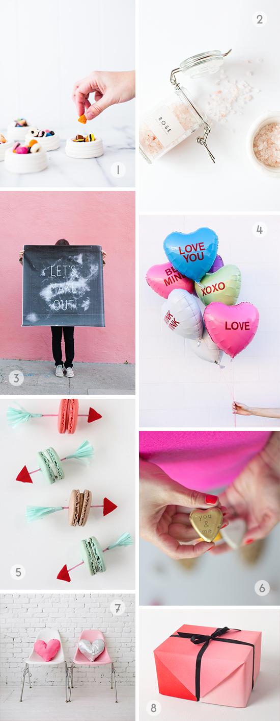 Valentine DIY Roundup // 8 DIYs to try this weekend
